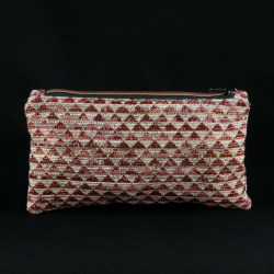 "Pochette ""Triangles rouges"""